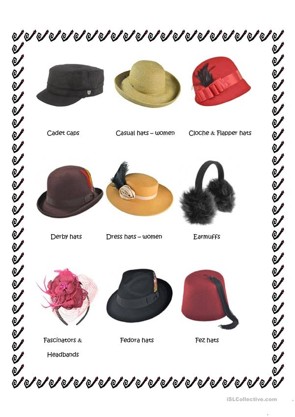 Hats by style