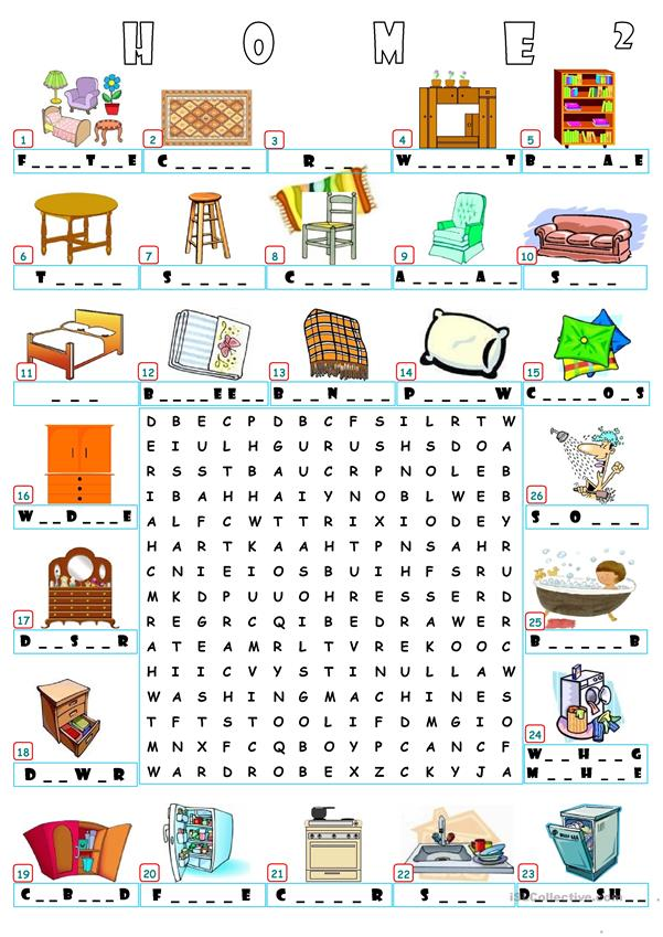 HOME - WORDSEARCH 2