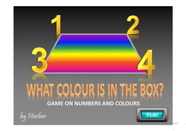 NUMBERS & COLOURS