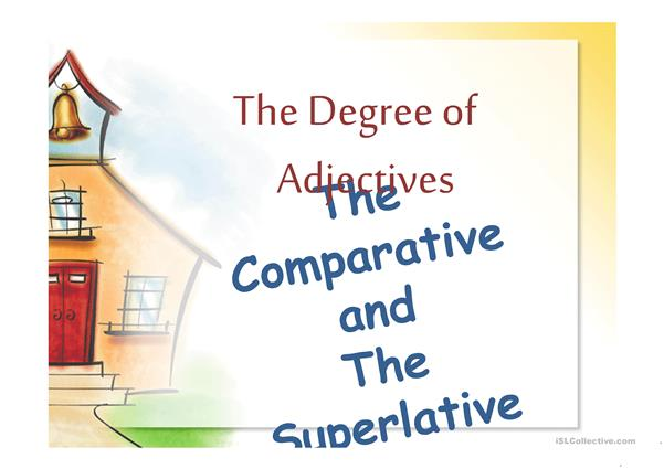 The Degree of Adjectives