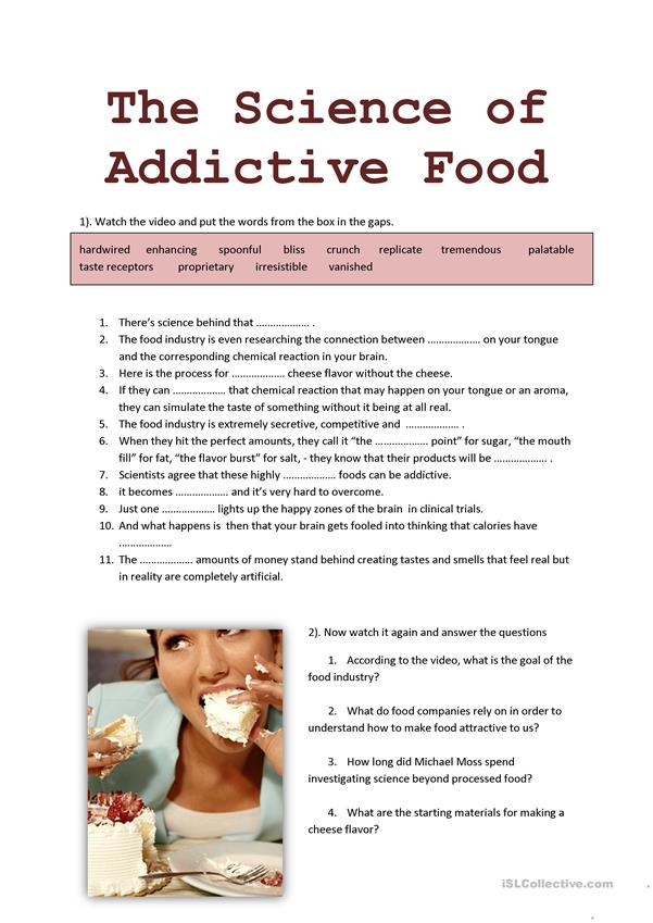 The science of addictive food video WS