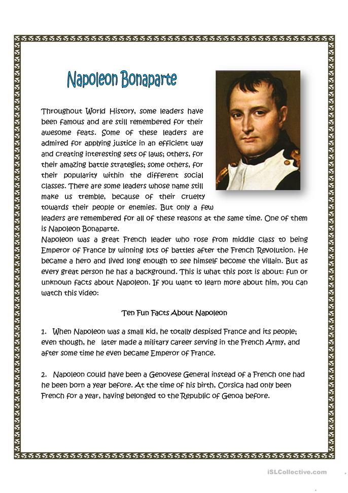 an introduction to the comparison of napoleon and bismarck Although, bismarck was not the king of his country he seemingly ruled it  bismarck and napoleon compare through military success,.