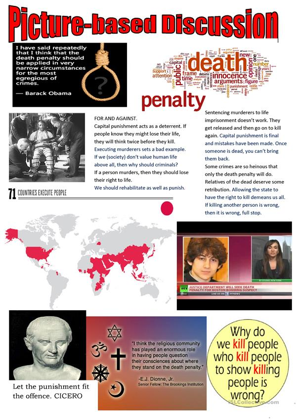 a look at the arguments about death penalty Some of the arguments against the death penalty are essentially conservative, and many others transcend ideology no one has to agree with all of the arguments in order to reach a decision.