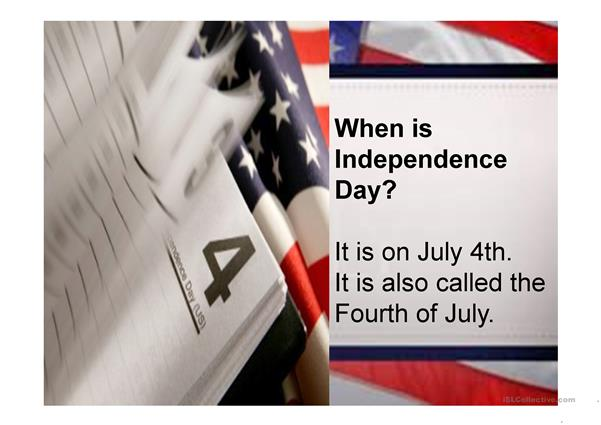 Independence Day Introduction