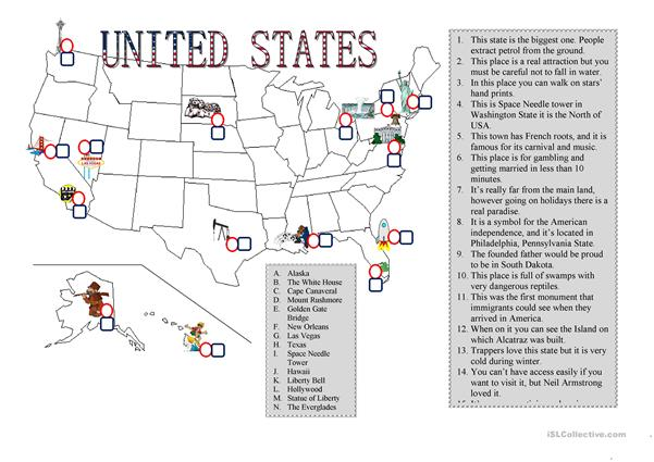 Places in USA