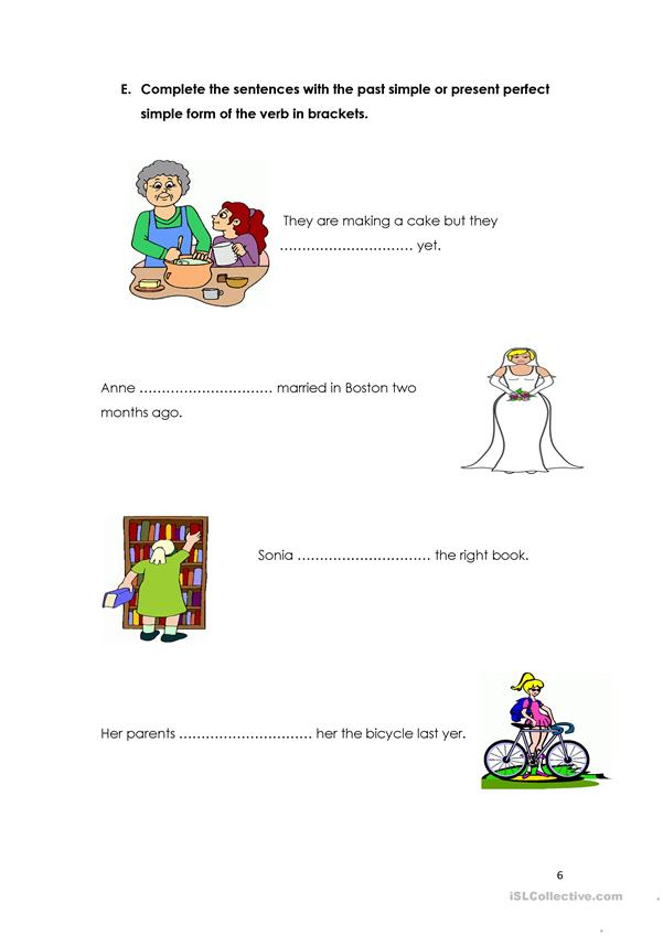 Present Perfect Simple time expressions