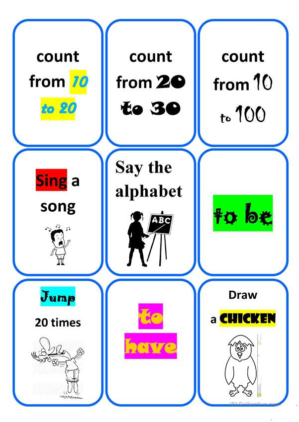Revision game for children - part 1 (editable)