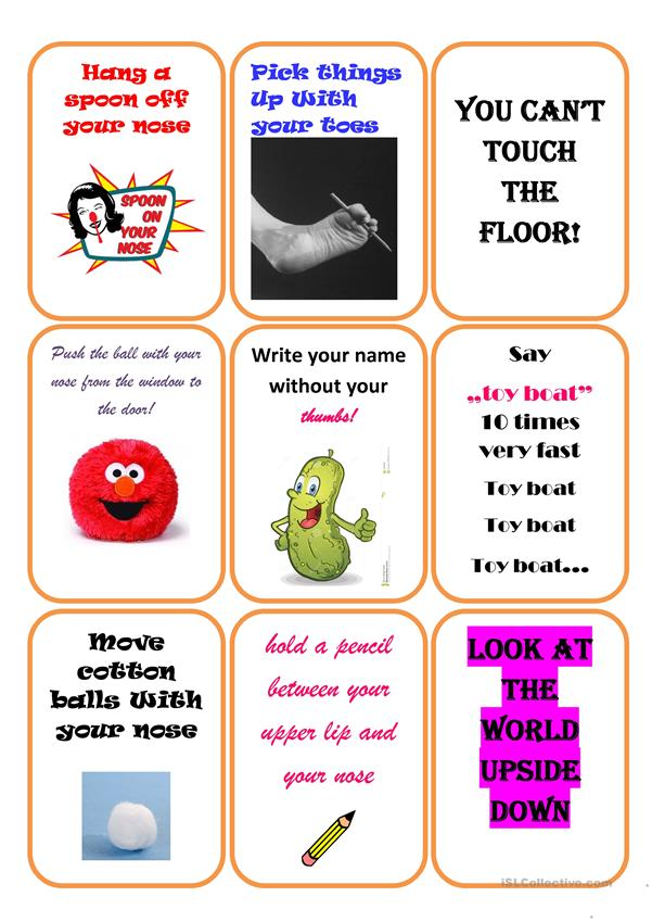 Revision game for children - part 4 (editable)