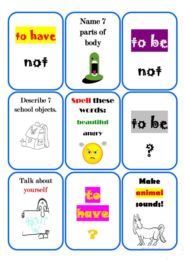 Revision game for children - part 5 (editable)