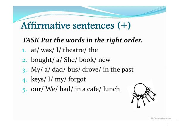 The Past Simple tense practice