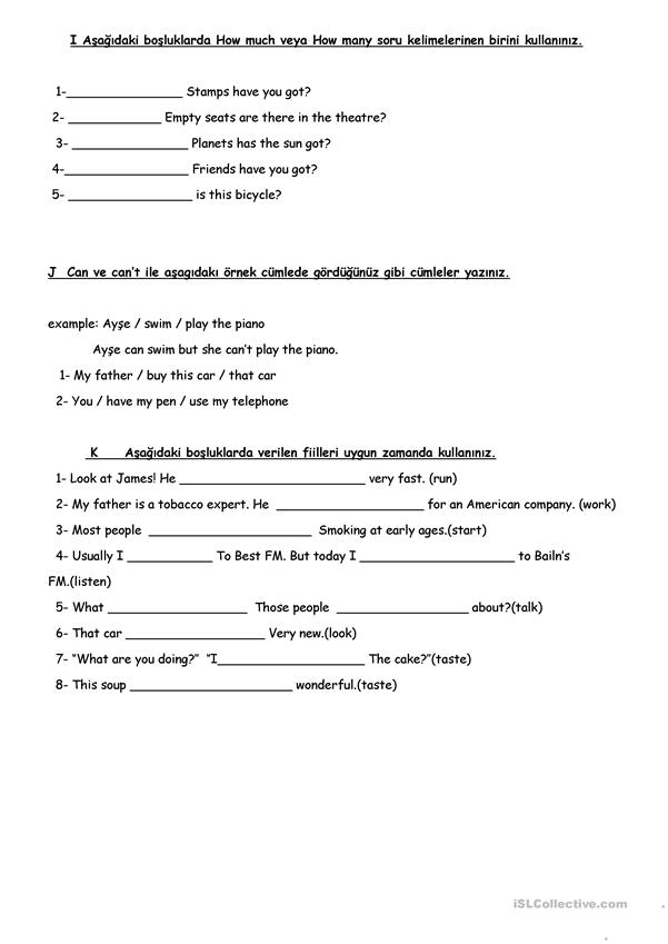 WORKSHEET 8