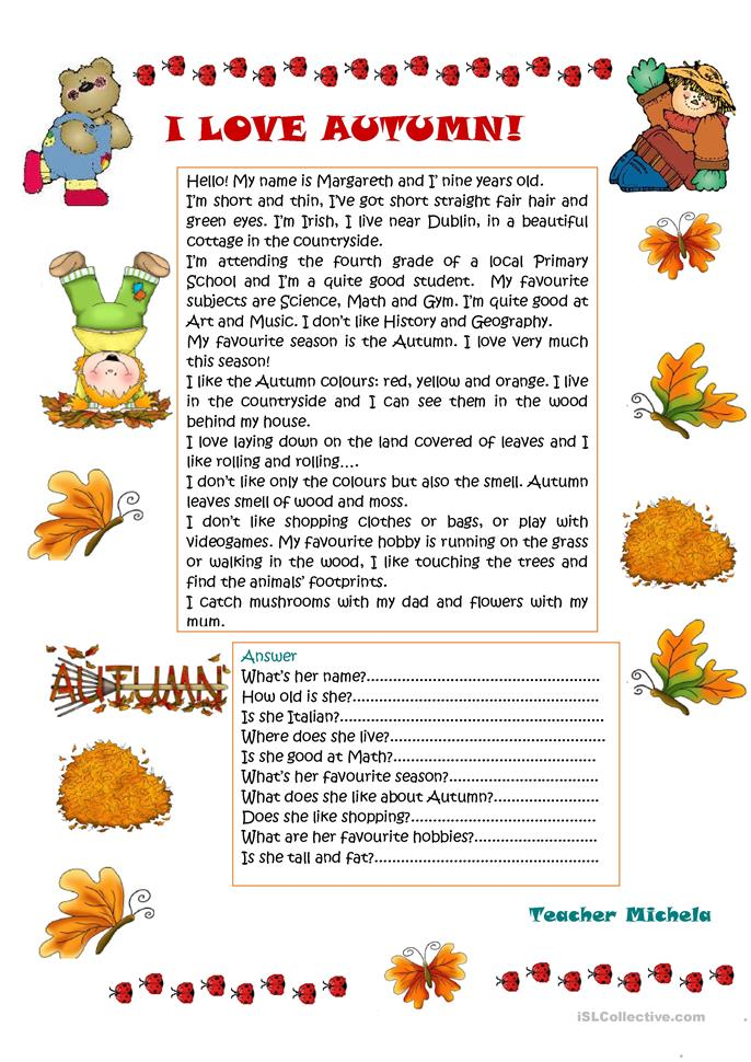 describe autumn Descriptive words for the seasons  an overview of the 4 lists we have top describe the seasons: descriptive words for autumn/fall.