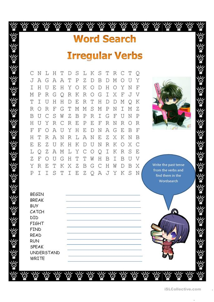 Irregular Verbs likewise Big Past Tense Wordsearch moreover Maxresdefault additionally  besides Sem T C Adtulo. on what are irregular verbs