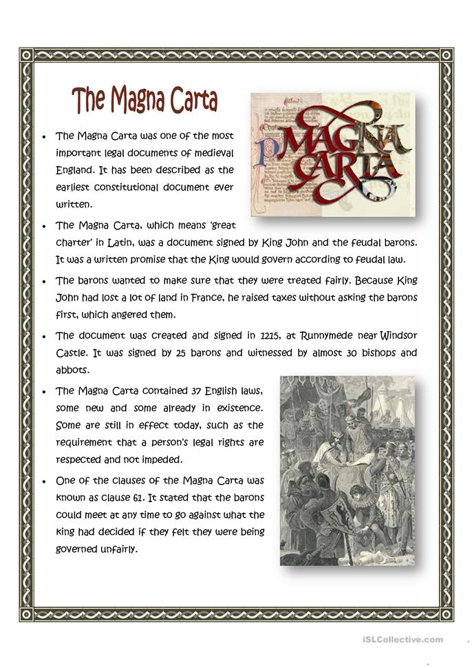 magna carta for students essay The magna carta and the constitution how to write a rhetorical analysis essay: tips for students recent essays.