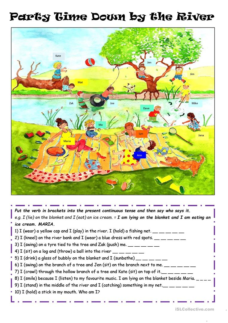 What are they doing? worksheet - Free ESL printable worksheets made by teachers