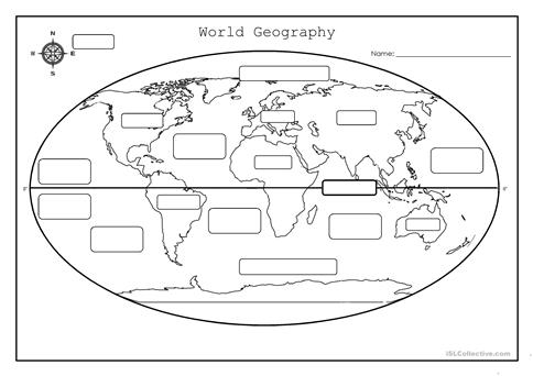 Geography Worksheets & Free Printables | Education.com