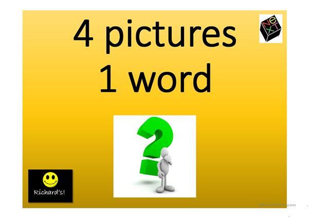 4 pictures 1 word game 2