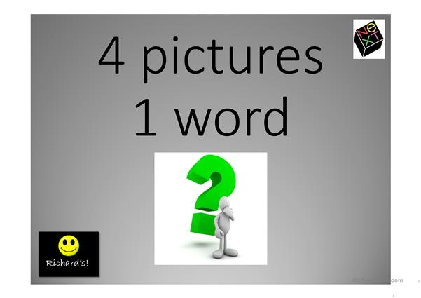 4 pictures 1 word game 5