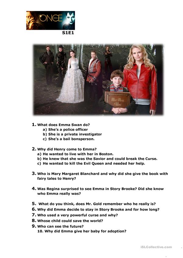 Once Upon A Time Season 1 Episode 1