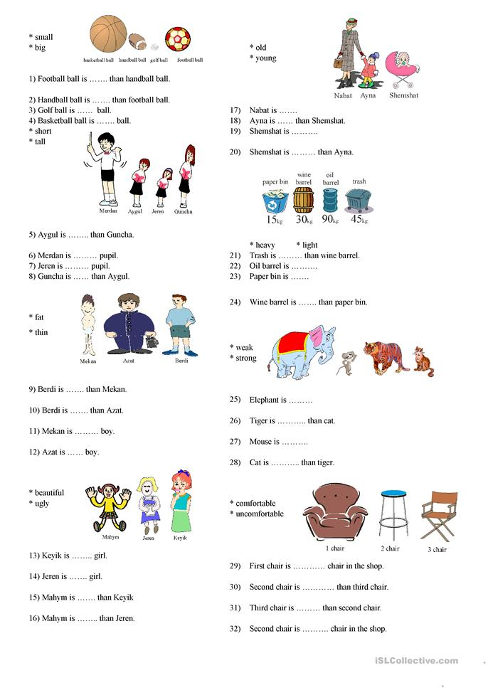 ... adjectives worksheet - Free ESL printable worksheets made by teachers