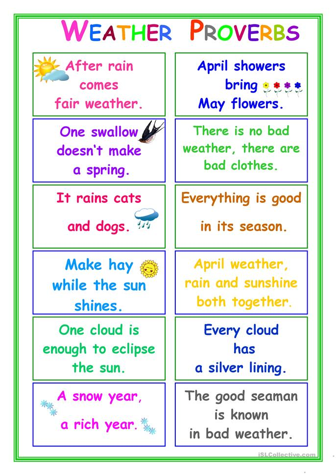Small Vocabulary Matching Worksheet Weather further Big Proverbs About Weather besides Daddy Word Tracing further Sem Ttulo likewise Original. on worksheets seasons and weather