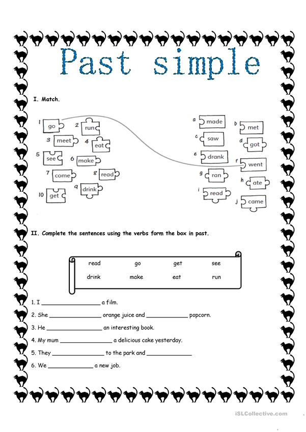 PAST SIMPLE 2