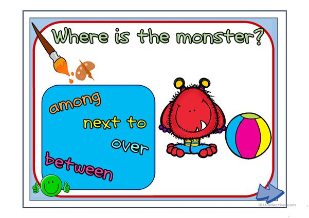 Where is the monster? Part 2