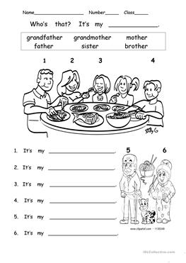 English ESL who's who worksheets - Most downloaded (31 Results)