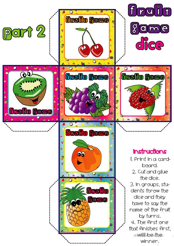 Fruit - Dice Game (2-2)