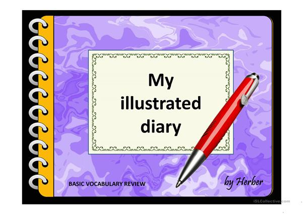 MY ILLUSTRATED DIARY