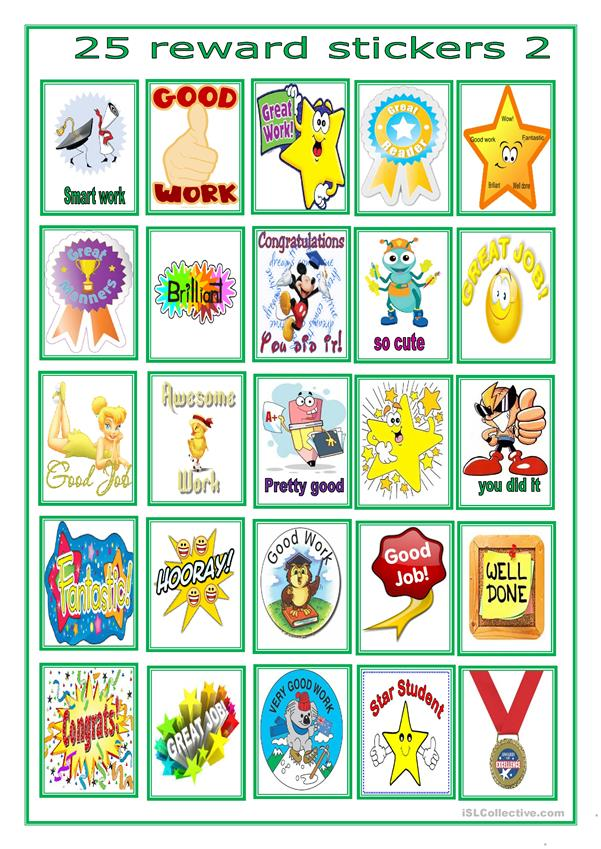 reward stickers for beginners -6-