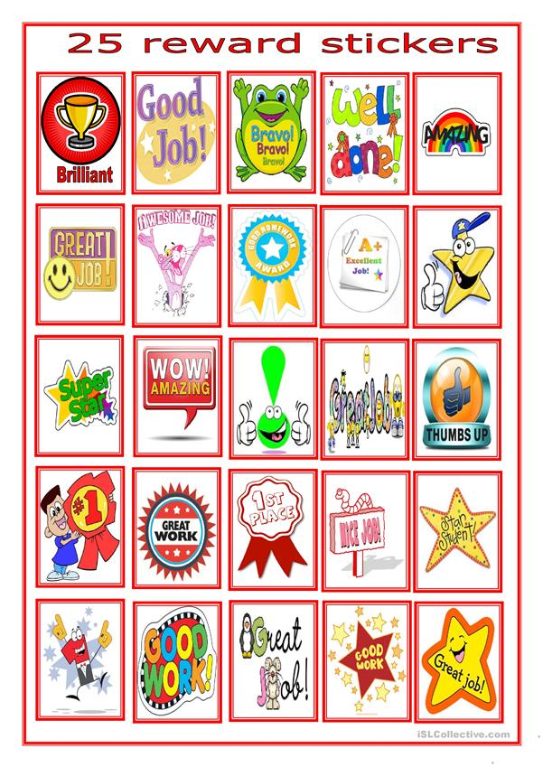 reward stickers for beginners -7-