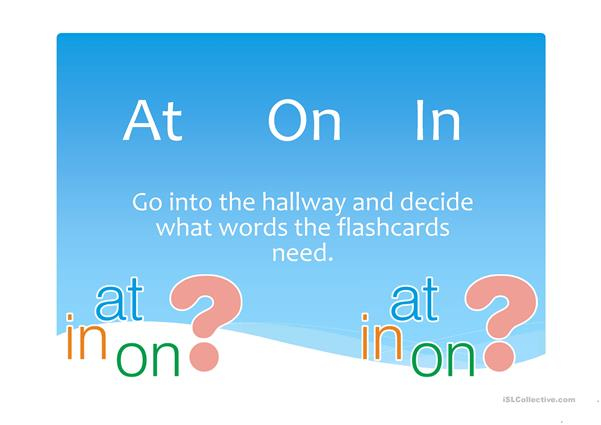 prepositions of time (at,on,in)