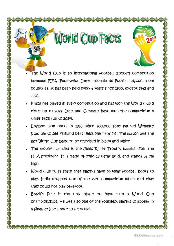 World Cup Facts