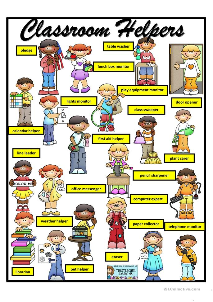 Worksheets Teacher Helper Worksheets 2 free esl classroom helpers worksheets helpers
