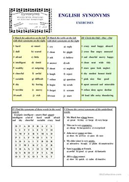 Two Step Equations Word Problems Worksheet Pdf  Free Esl Synonyms Worksheets Perfect Tense Worksheets Pdf with Site Words Worksheets Pdf English Synonyms Exercises Cursive Alphabet Worksheet Excel