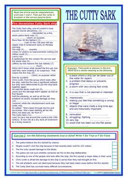 Addition Worksheets For 1st Graders Pdf  Free Esl Synonyms Worksheets Free Worksheets For Second Grade with 4th Grade Grammar Worksheet Word The Cutty Sark Reading  Passive Voice Practice All About Me Worksheets Preschool Pdf