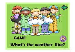9 free esl what s the weather like powerpoint presentations exercises