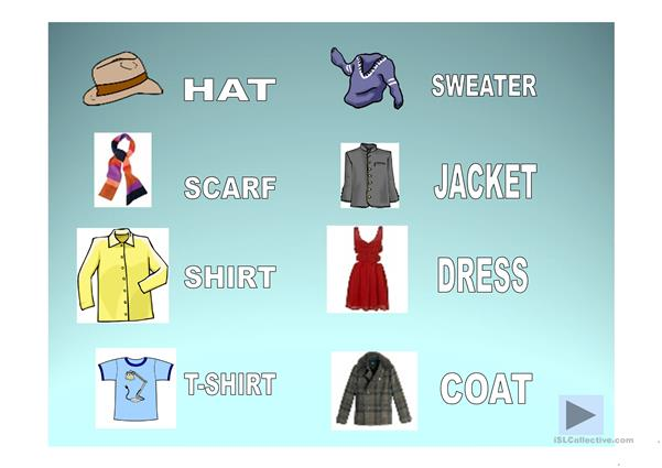 Clothes PPT