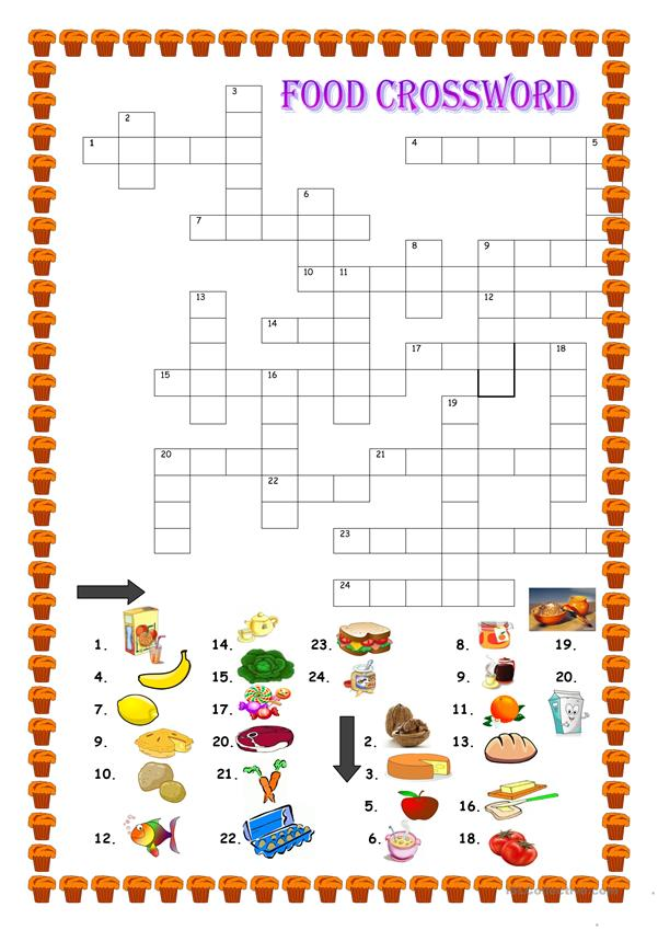 Food, crossword
