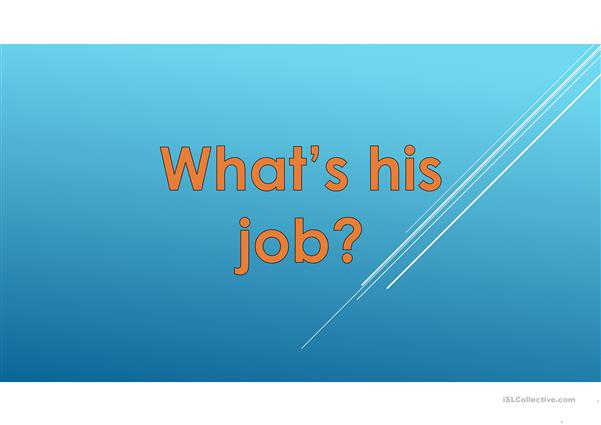 Jobs Vocabulary & Quiz