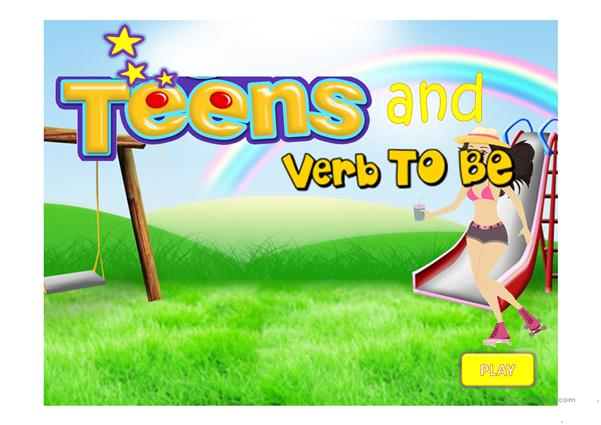Teens And  The Verb To-Be