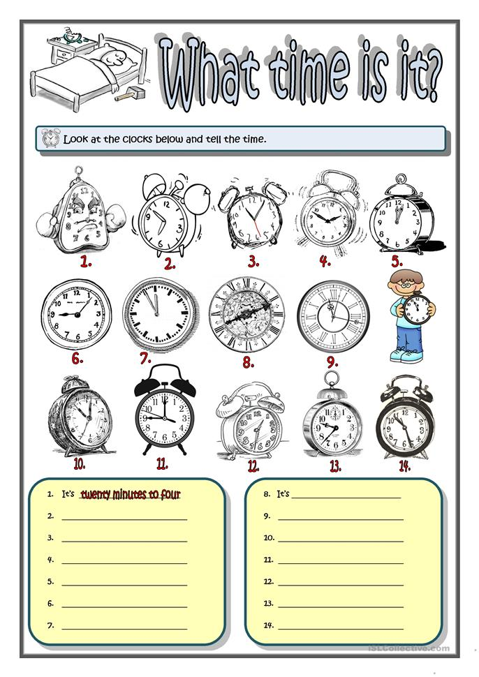 what time is it worksheet free esl printable worksheets made by teachers. Black Bedroom Furniture Sets. Home Design Ideas