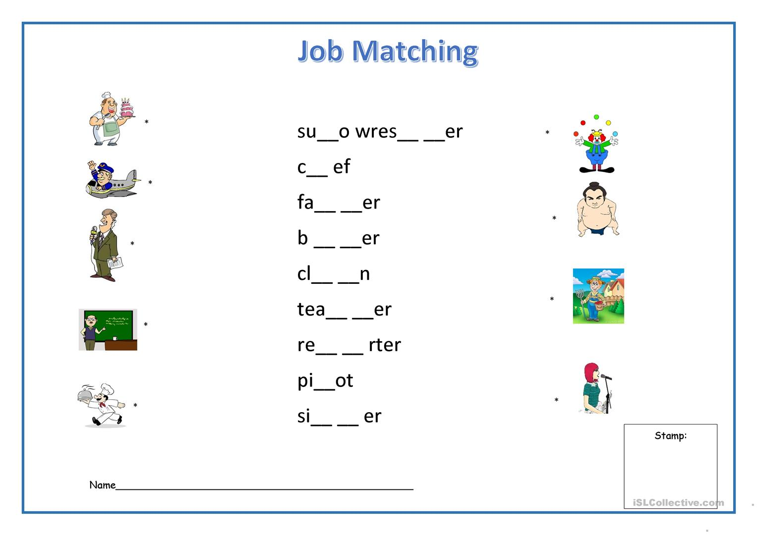 Wp A additionally Animal Dominoes Flashcards Fun Activities Games Games further Small Summer besides Emotions Matching Worksheet in addition Job Matching. on printable vocabulary match up