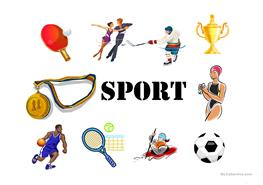 English ESL types of sports Powerpoint presentations - Most