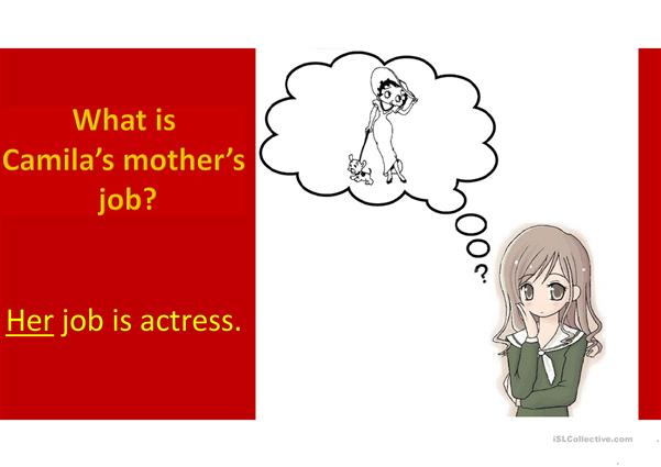 What is your father's Job?