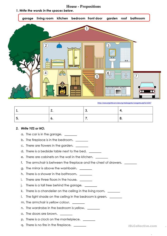 Preposition In Learn In Marathi All Complate: Prepositions Of Place IN ON UNDER Worksheet