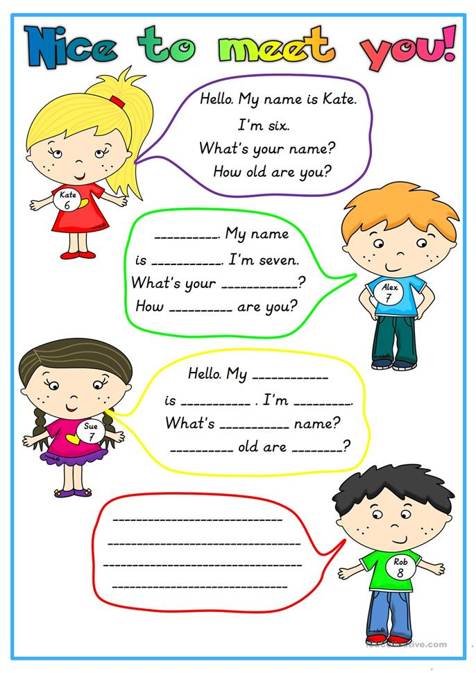 meet your teacher printables
