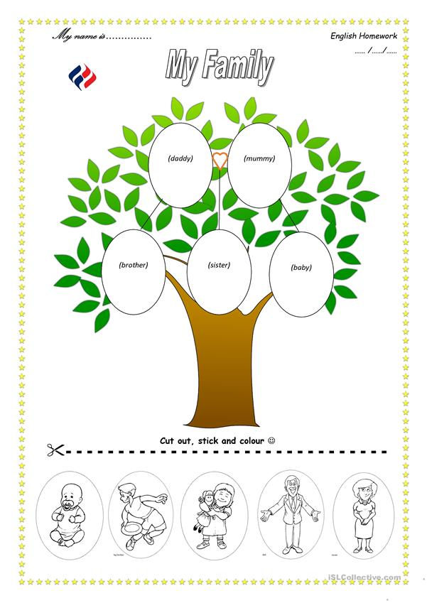 Family Tree English Esl Worksheets For Distance Learning And Physical Classrooms