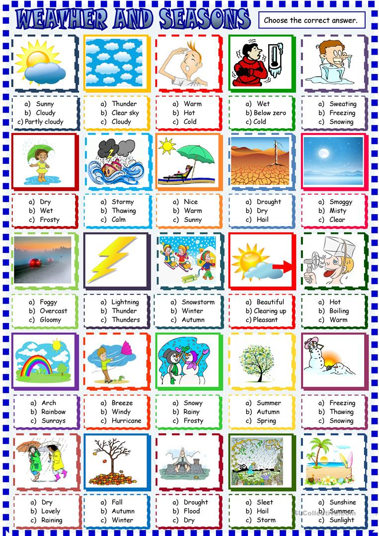 Worksheets The Weather Pdf on Best Free Worksheets Ideas On Pinterest Kids Learning This